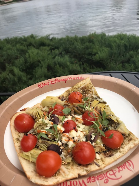 Artful Epcot Epcot International Festival of the Arts Morocco Mediterranean Flat Bread