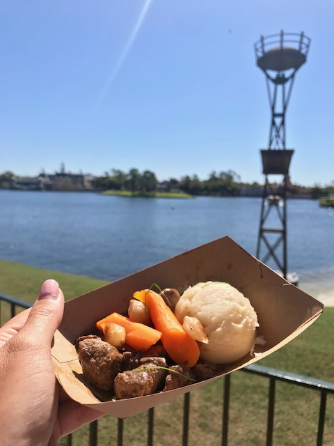 Epcot International Flower and Garden Festival Northern Bloom Beef Tenderloin Tips