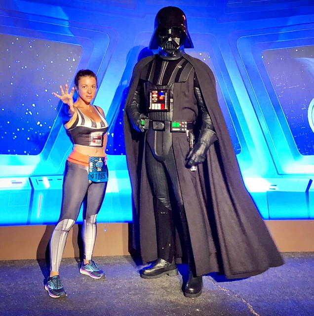 ark Side Race Weekend runDisney First Order Challenge Darth Vader 2