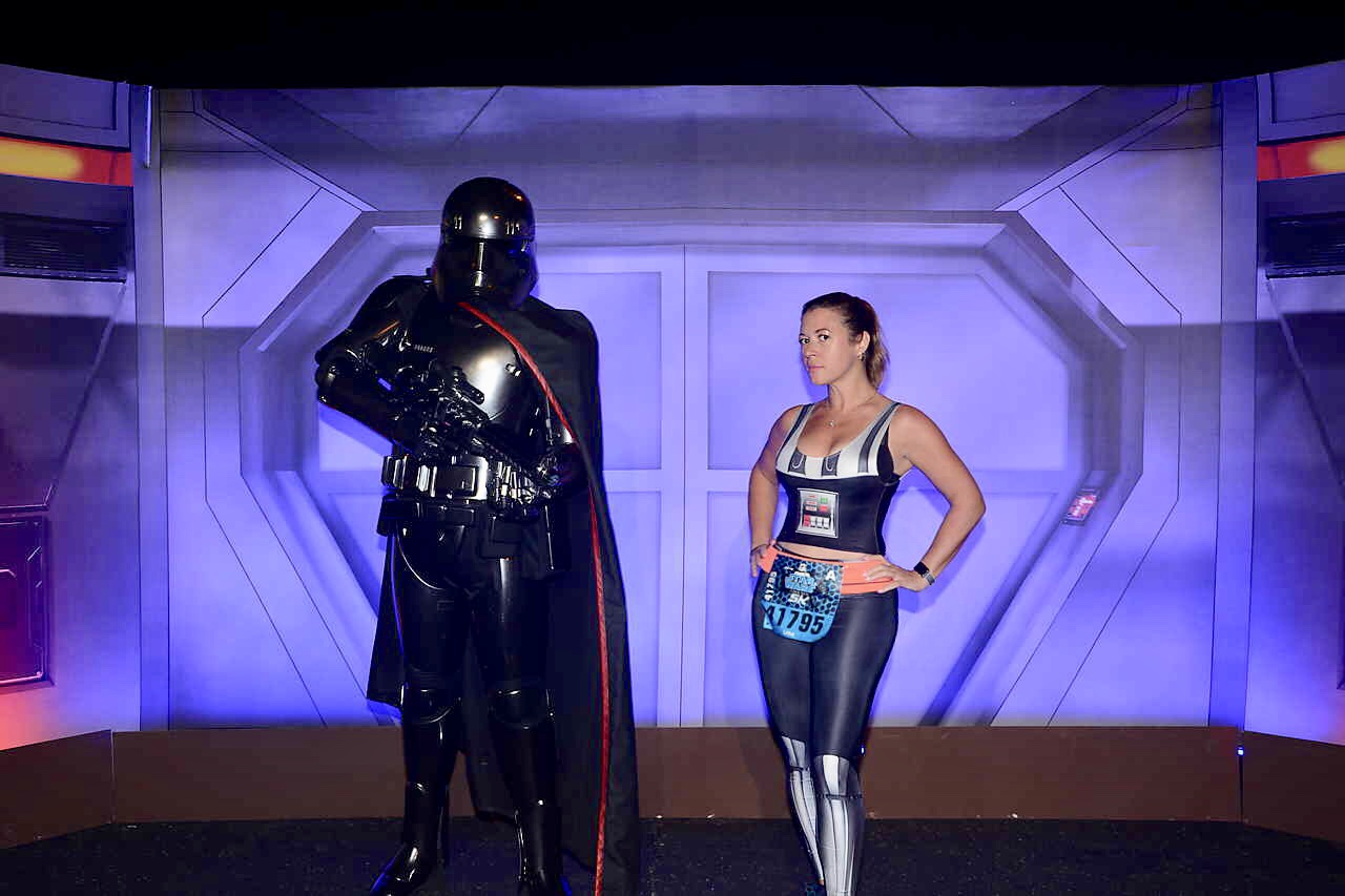 ark Side Race Weekend runDisney First Order Challenge Phasma