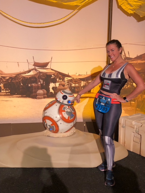 Dark Side Race Weekend runDisney First Order Challenge BB8